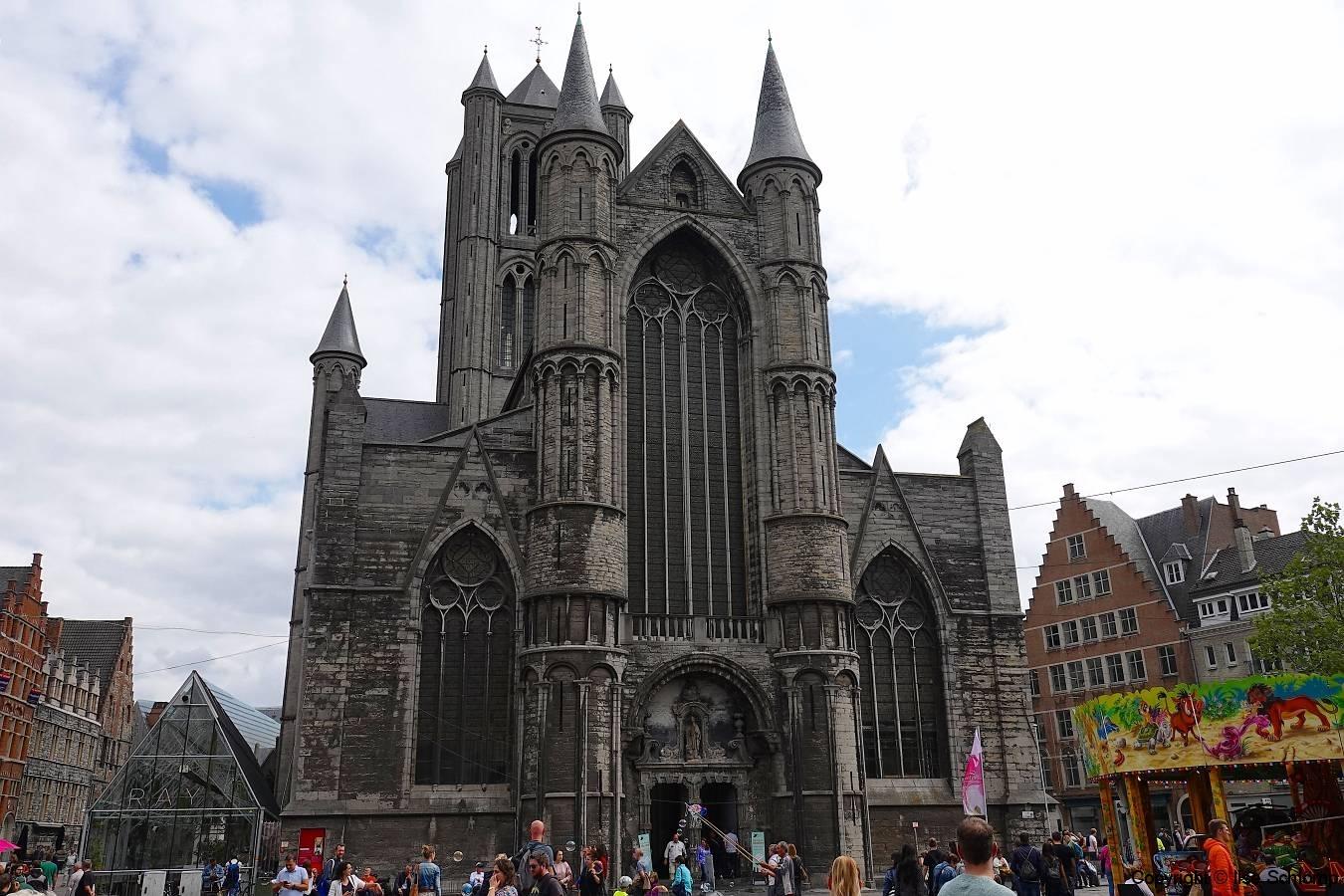 Belgien, Gent, Sint-Niklaaskerk
