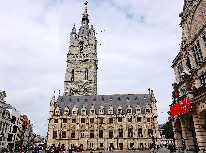 Belgien, Gent, Tuchhaus mit Belfried