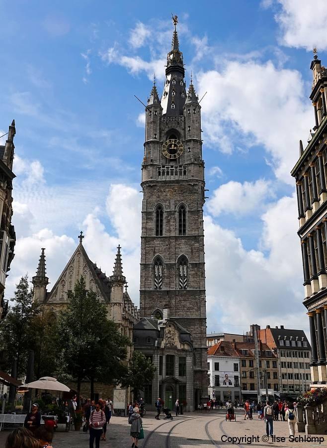 Belgien, Gent, Belfried
