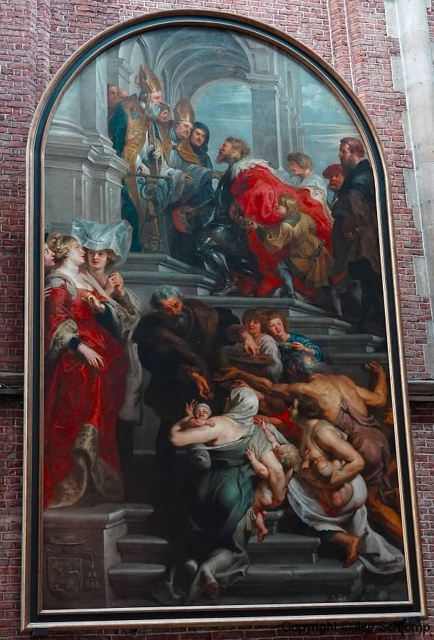 Belgien, Gent, St.-Bavo-Kathedrale, Rubens-Gemälde
