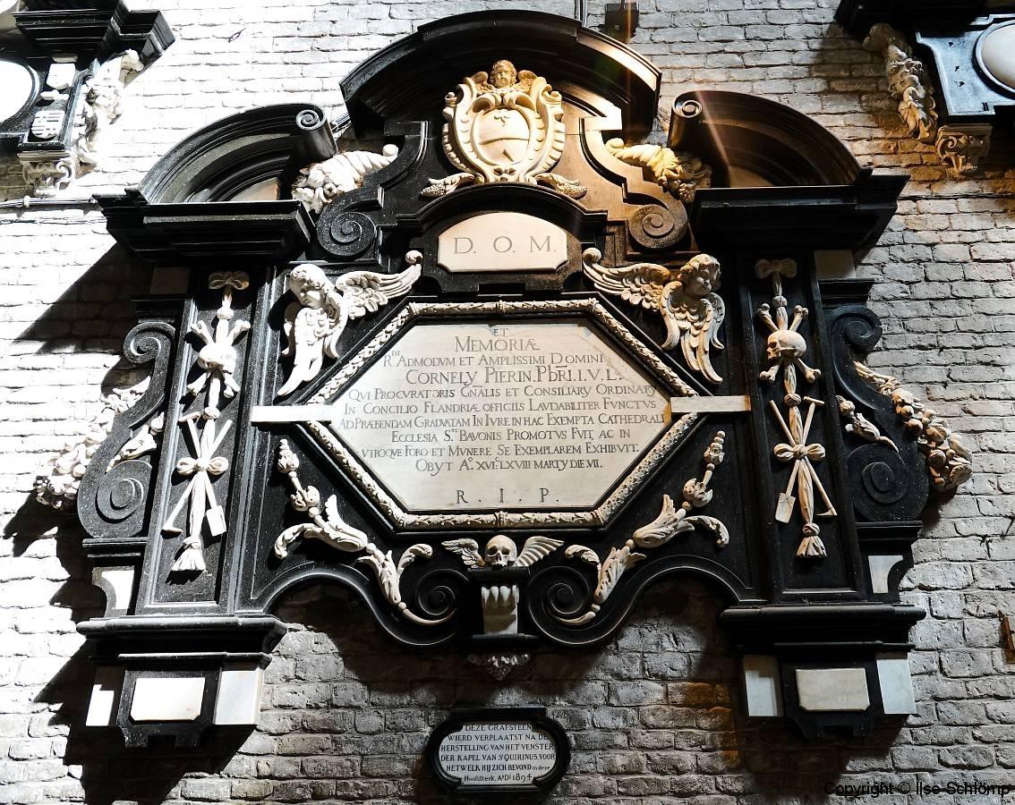 Belgien, Gent, St.-Bavo-Kathedrale