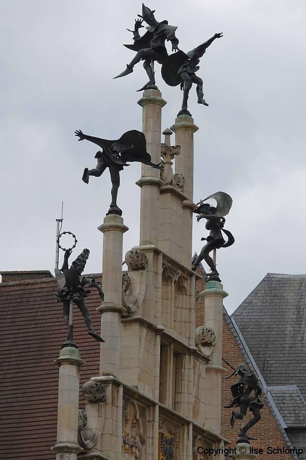 Belgien, Gent, Zunfthaus der Steinmetze