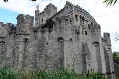 Belgien, Gent, Burg Gravensteen