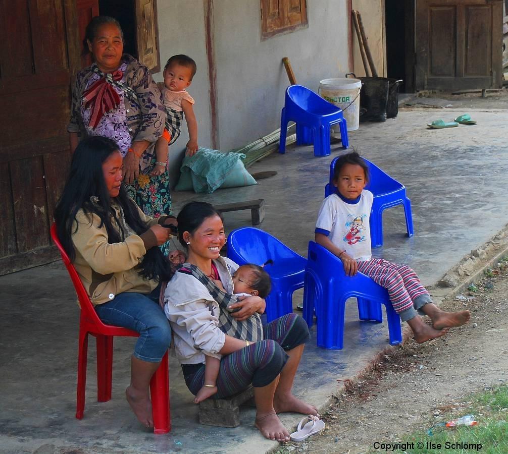 Laos, Hmong und Khmu