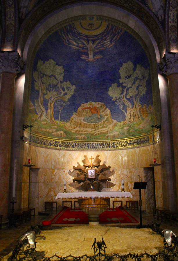Israel, Jerusalem, Kirche der Nationen