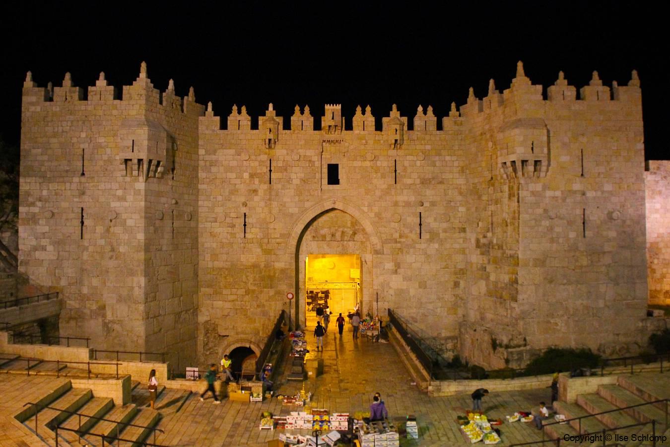 Israel, Jerusalem, Damaskustor