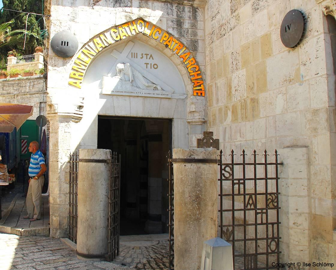 Israel, Jerusalem, Via Dolorosa, Station III