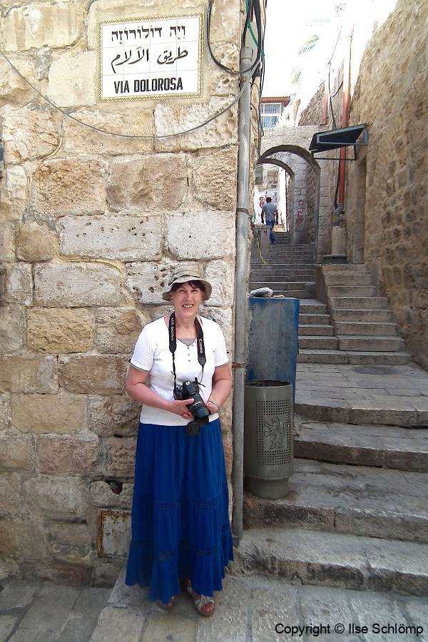 Israel, Jerusalem, Via Dolorosa