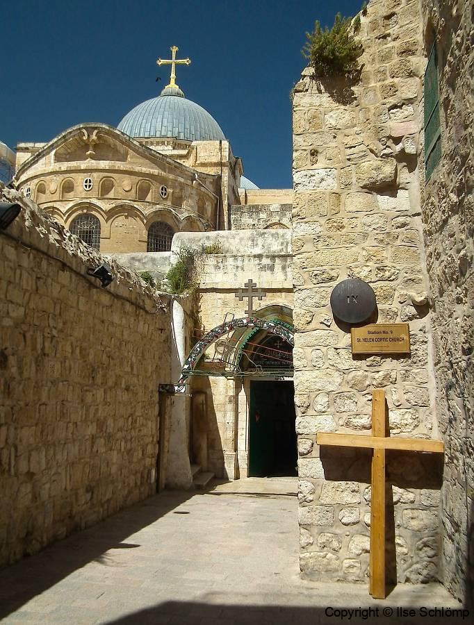 Israel, Jerusalem, Via Dolorosa, Station IX