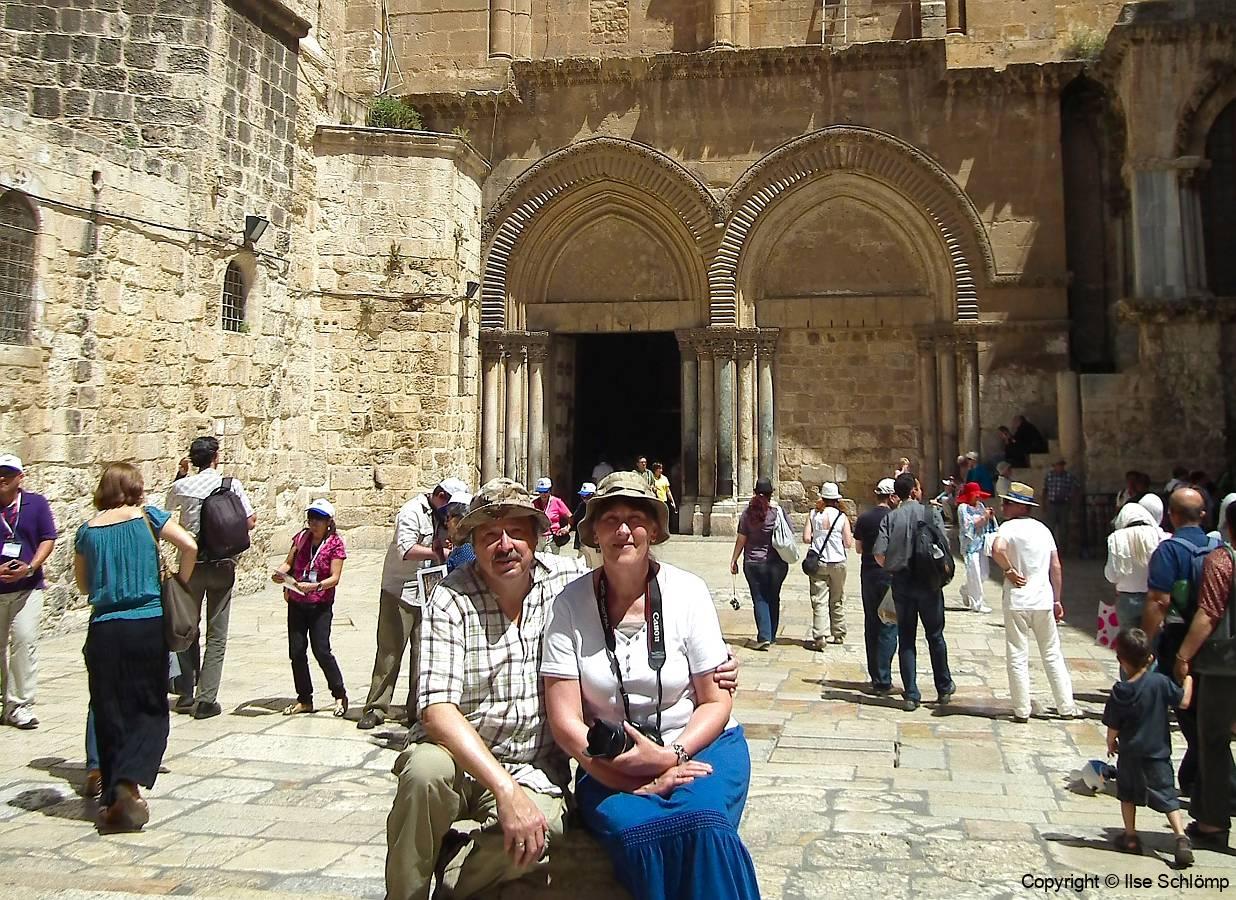 Israel, Jerusalem, Grabeskirche
