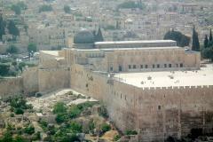 Israel, Jerusalem, Blick vom Ölberg