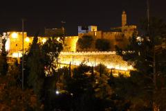 Israel, Jerusalem, Stadtmauer