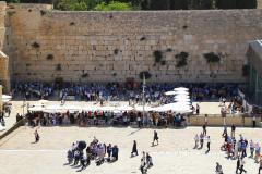 Israel, Jerusalem, Blick auf die Klagemauer