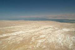 Israel, Blick von Masada auf das Tote Meer