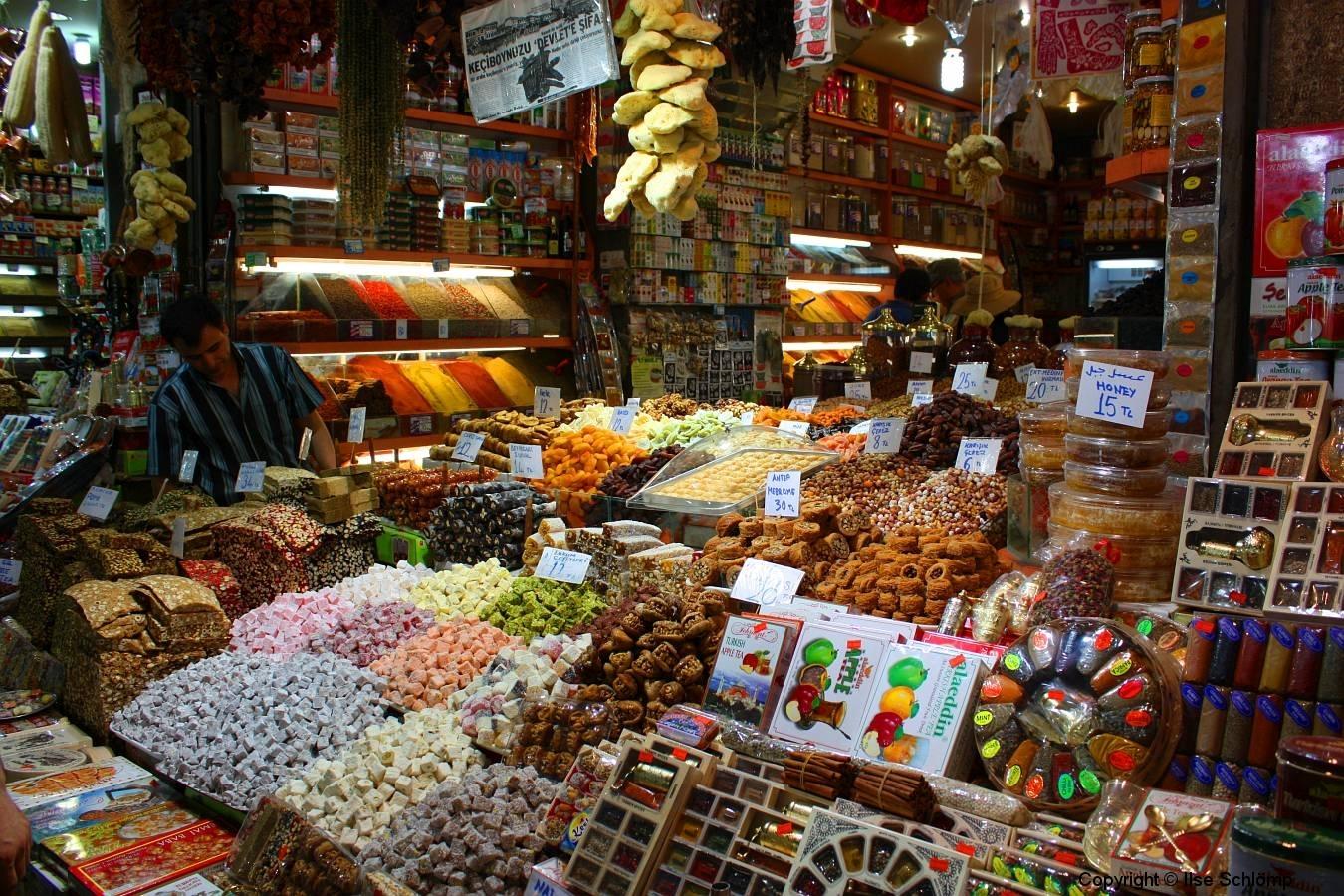 Istanbul, Großer Bazar, süße Leckereien