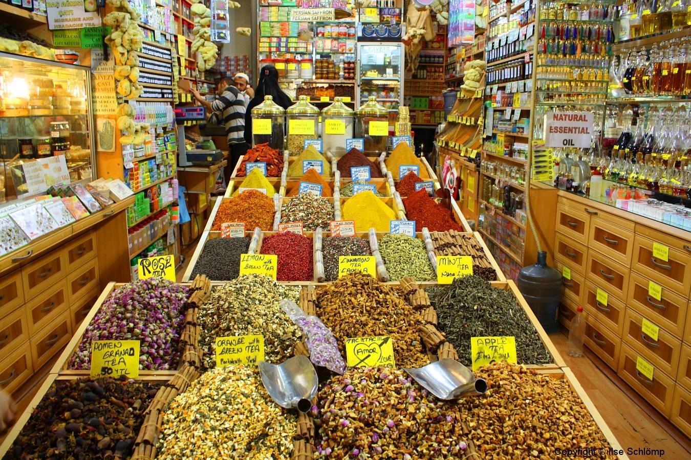 Istanbul, Großer Basar, Teeladen
