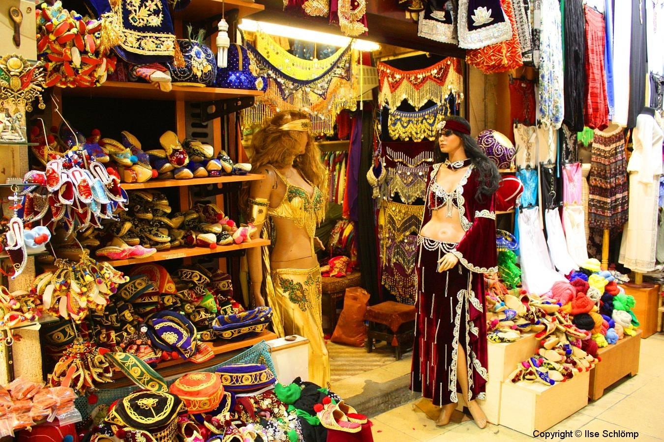 Istanbul, Großer Bazar, Bauchtanz-Zubehör