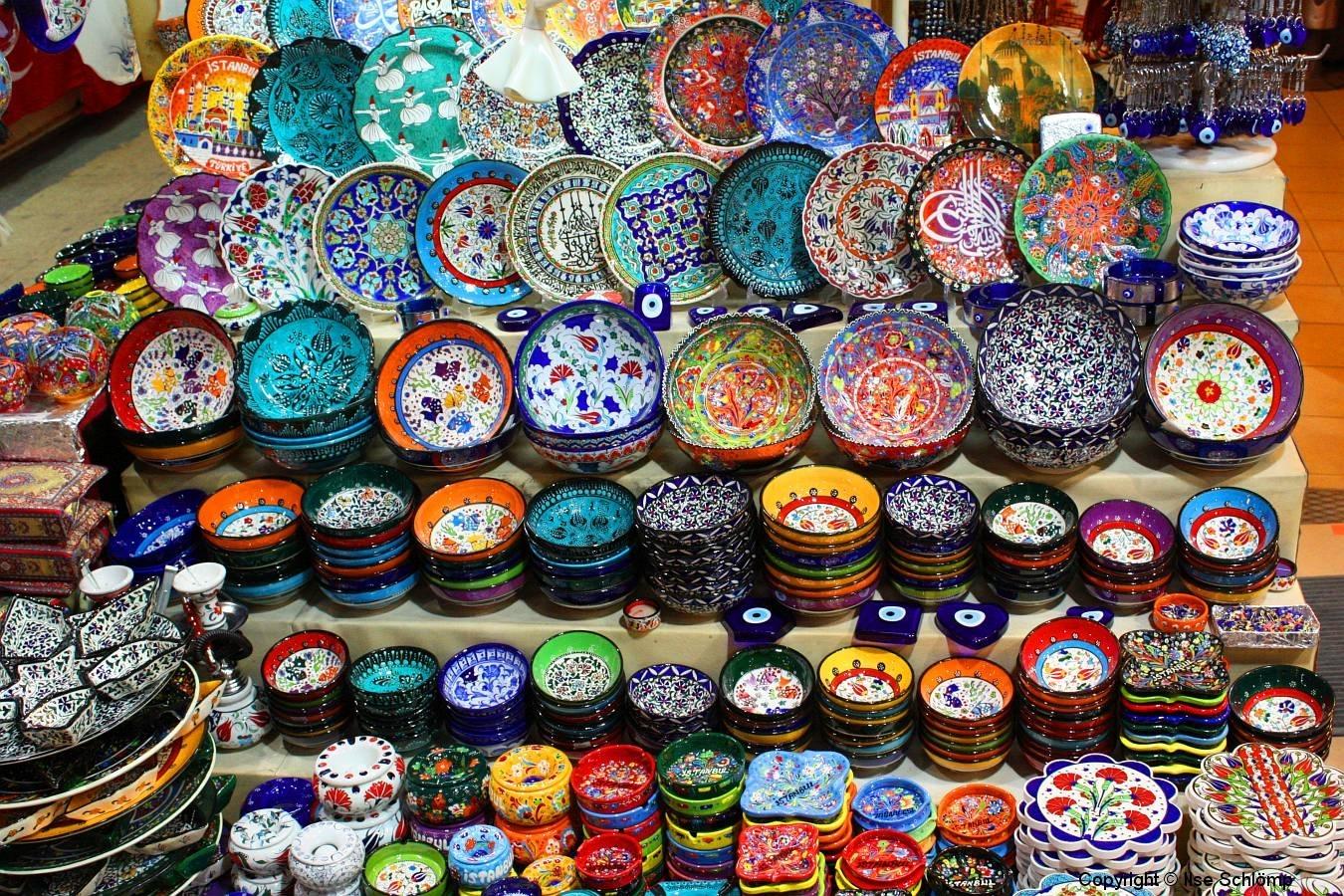 Istanbul, Großer Bazar, Keramikhandwerk