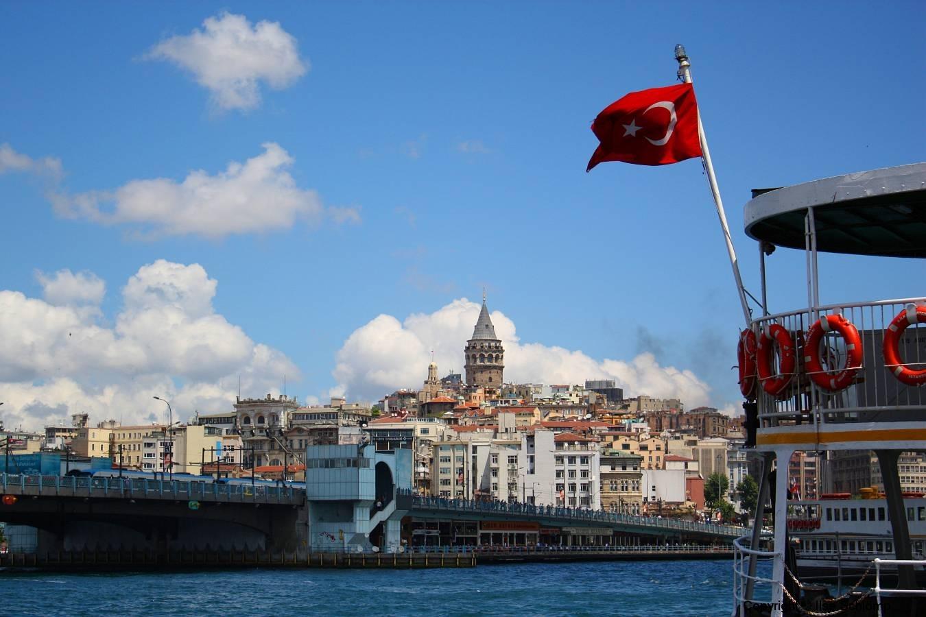 Istanbul, Galatabrücke