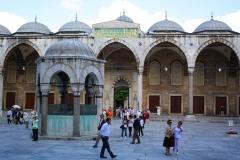 Istanbul, Blaue Moschee, Vorhof