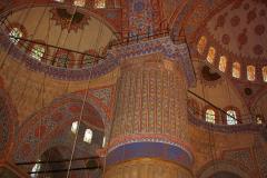 Istanbul, Blaue Moschee, Innenansicht