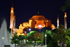 Istanbul, Hagia Sophia bei Nacht