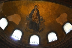 Istanbul, Hagia Sophia, Gottesmutter mit Christuskind