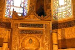 Istanbul, Hagia Sophia, muslimische Gebetsnische