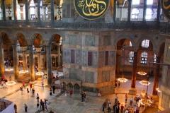 Istanbul, Hagia Sophia, Blick von der Empore