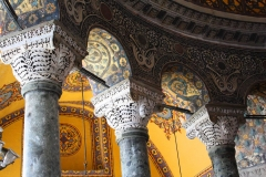Istanbul, Hagia Sophia, Innenansicht, Säulenarkaden