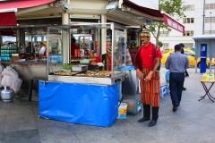 Istanbul, Fischverkäufer