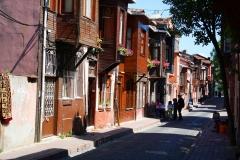 Istanbul, Osmanische Holzhäuser in der historischen Altstadt
