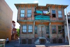 Istanbul, Osmanisches Holzhaus in der historischen Altstadt