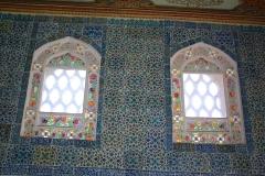 Istanbul, Topkapi-Palast, Buntglasfenster
