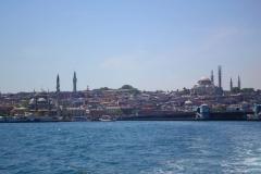 Istanbul, hinten rechts ist die Süleymaniye-Moschee zu sehen