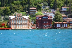 Istanbul, Yali, Sommervillen am Bosporus