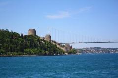 Istanbul, Burg Rumeli Hisari und Sultan-Mehmet-Brücke