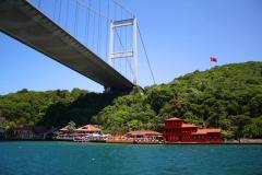 Istanbul, Sultan-Mehmet-Brücke über dem Bosporus