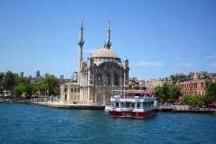 Istanbul, Ortaköy-Moschee