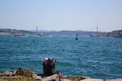 Istanbul, Blick auf den Bosporus