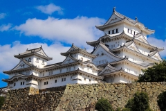 Japan, Himeji, Burg des weißen Reihers