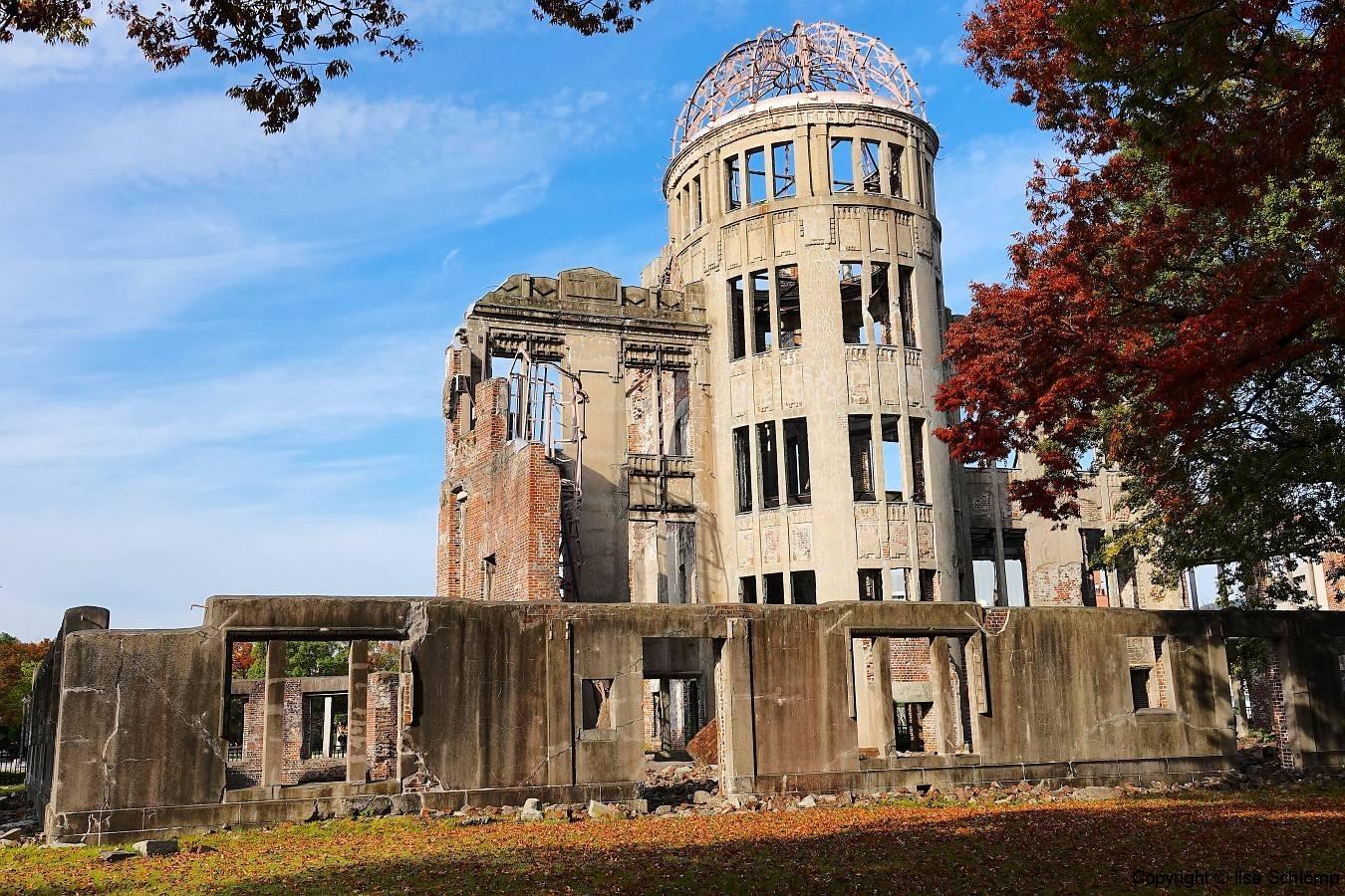 Japan, Hiroshima, Friedensdenkmal, Genbaku-domu (Atombombenkuppel)