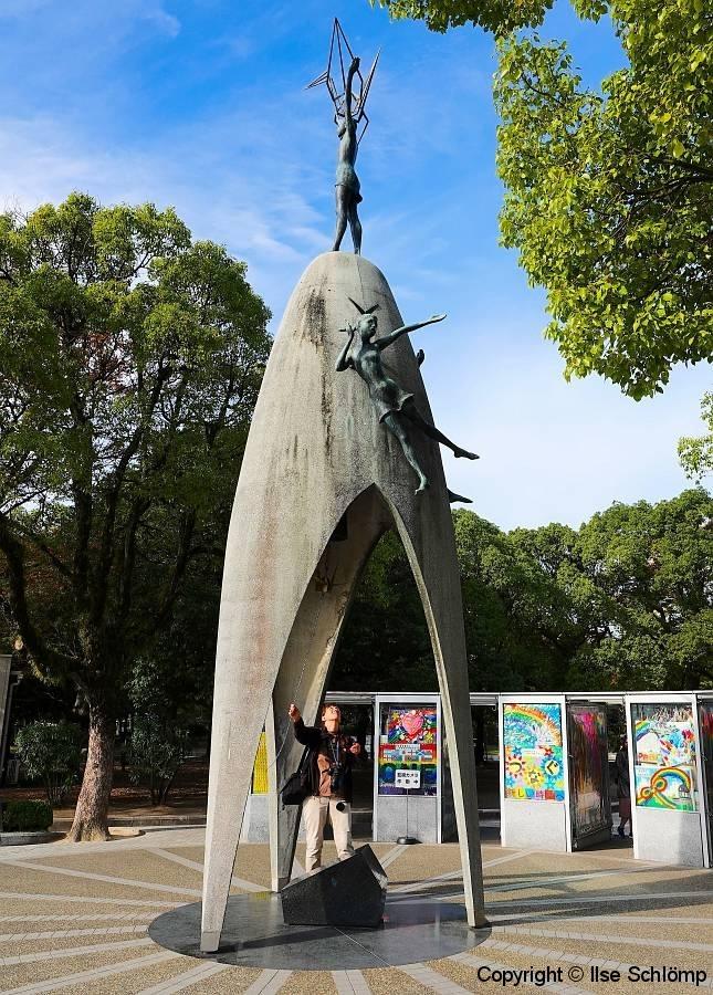 Japan, Hiroshima, Kinder-Friedensmonument