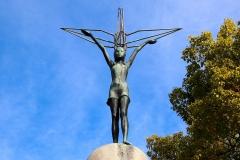 Japan, Hiroshima, Kinder-Friedensmonument zu Ehren des Mädchens Sadako