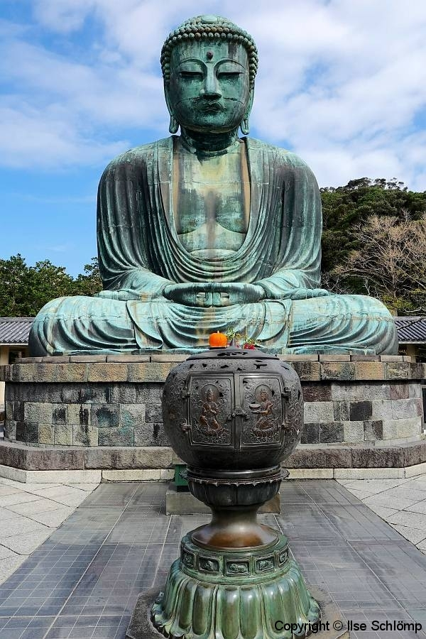 Japan, Kamakura, bronzener Riesenbuddha