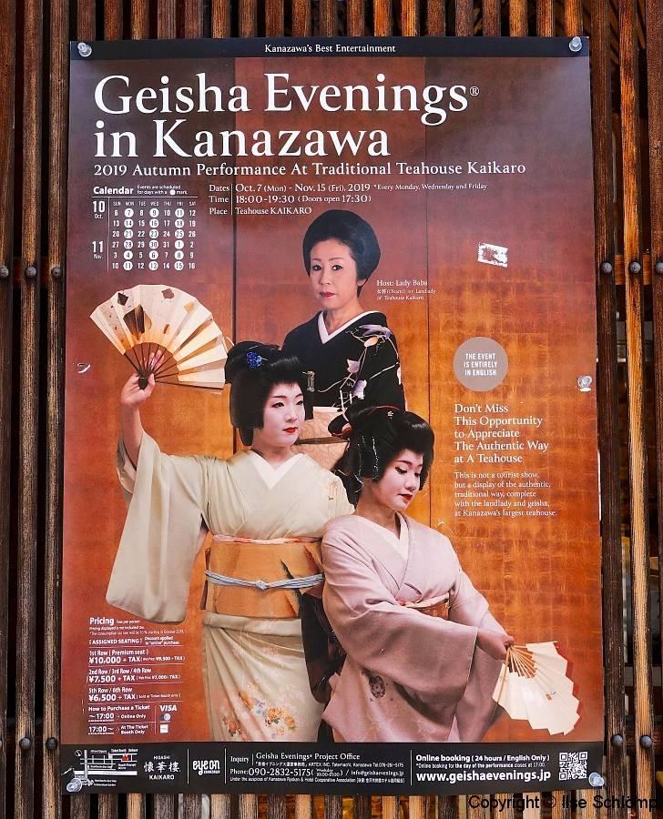 Japan, Kanazawa, Higashi-Chaya, Geisha-Distrikt