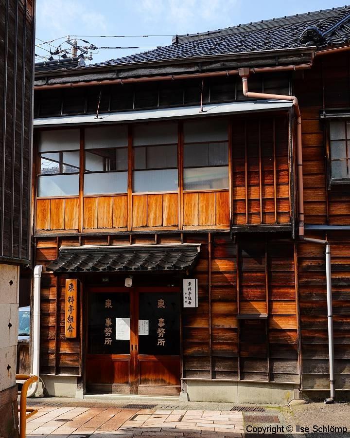 Japan, Kanazawa, Higashi Chaya, Geisha-Distrikt