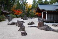 Japan, Koya-san, Kongobu-ji Tempel, Steingarten