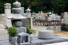 Japan, Koya-san, Friedhof Oku-no-in