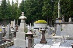 Japan, Koya-san, Friedhof Oku-no-in